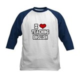 """I Love Teaching English"" Tee"