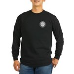 Support Teacher Long Sleeve Dark T-Shirt