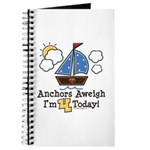 4th Birthday Sailboat Party Journal