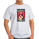 Obey the CORGI! Ash Grey T-Shirt