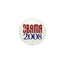 OBAMA Distressed 1 Mini Button (10 pack)