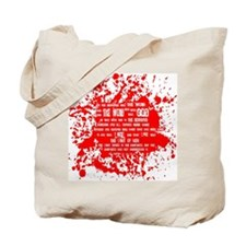 Funny In the beginning was the word Tote Bag