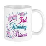 3rd Birthday Princess Mug