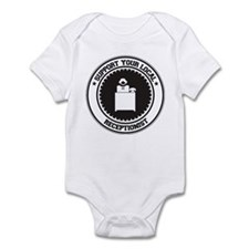 Support Receptionist Infant Bodysuit