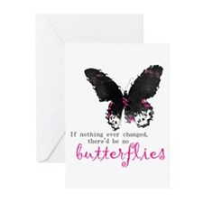 butterfly change Greeting Cards (Pk of 10)