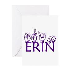 ERIN Greeting Card
