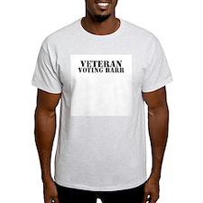 Veteran Voting Barr T-Shirt