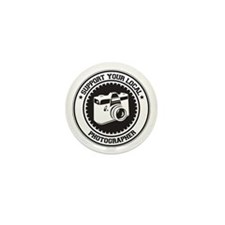 Support Photographer Mini Button