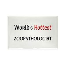 World's Hottest Zoopathologist Rectangle Magnet