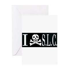 I Hate S.L.C. Greeting Card