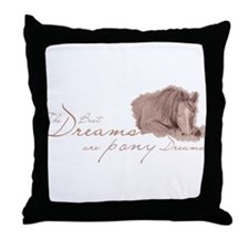Pony Dreams Throw Pillow
