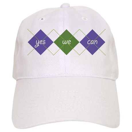 Yes We Can ARGYLE Cap