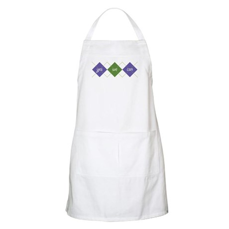 Yes We Can ARGYLE BBQ Apron