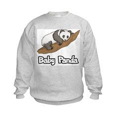Baby Panda Kids Sweatshirt