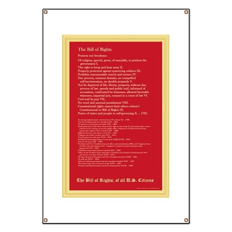 The Bill of Rights Banner