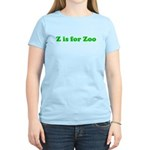 Z is for Zoo Women's Light T-Shirt