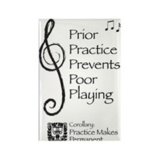 Practice Makes PermanentRectangle Magnet (10 pack)