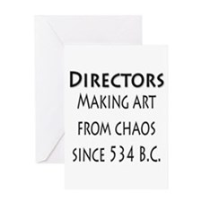 Art from Chaos Greeting Card