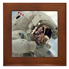 Astronaut Space Walk Framed Tile