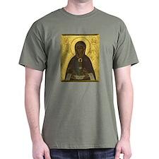 T-Shirt w/ Theotokos Icon