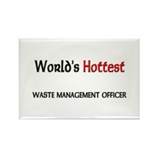World's Hottest Waste Management Officer Rectangle
