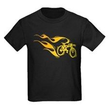 Flaming Bicycle T