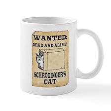Schroedinger's Cat Small Mugs