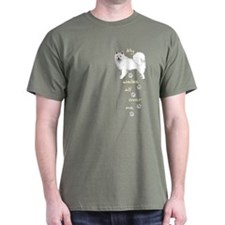 Eskie Walks T-Shirt