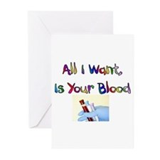 Phlebotomist Greeting Cards (Pk of 20)