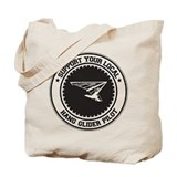 Support Hang Glider Pilot Tote Bag