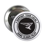 "Support Hang Glider Pilot 2.25"" Button (10 pack)"