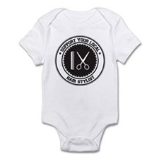 Support Hair Stylist Infant Bodysuit