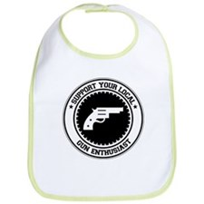 Support Gun Enthusiast Bib