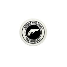 Support Gun Enthusiast Mini Button (10 pack)