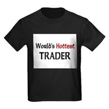 World's Hottest Trader Kids Dark T-Shirt