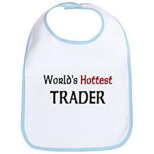 World's Hottest Trader Bib