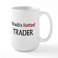 World's Hottest Trader Large Mug