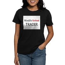 World's Hottest Trader Women's Dark T-Shirt