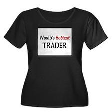 World's Hottest Trader Women's Plus Size Scoop Nec