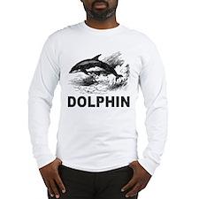 Vintage Dolphin Long Sleeve T-Shirt