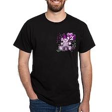 BIRTHDAY AGE: 2 (purple) T-Shirt