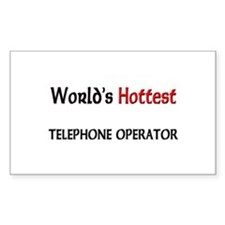 World's Hottest Telephone Operator Decal