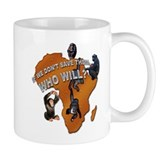 Save The Chimps Small Mugs