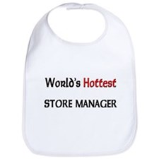 World's Hottest Store Manager Bib