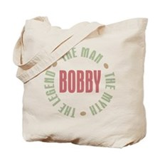 Bobby Man Myth Legend Tote Bag