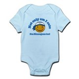 Not only am I cute I'm Nicaraguan too! Infant Body
