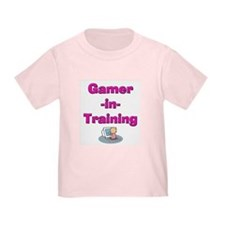 Gamer-in-Training (Pink) T