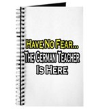 """No Fear, German Teacher"" Journal"