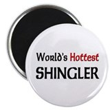"World's Hottest Shingler 2.25"" Magnet (10 pack)"