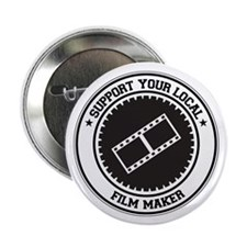 "Support Film Maker 2.25"" Button (100 pack)"
